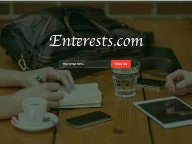 Social Platform (Coming soon page)