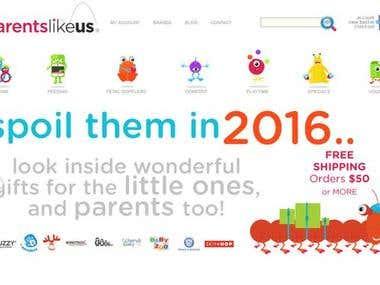 Parents Like Us [Wordpress]