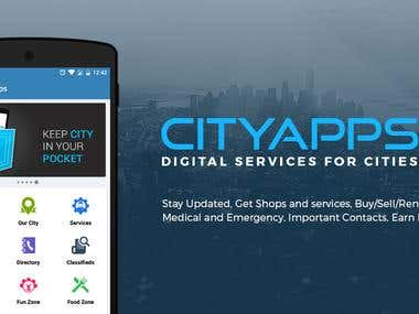 CityApps - Native Android App