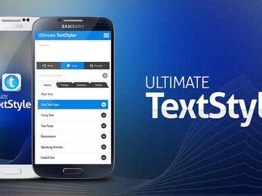 Ultimate Text Styler - Native Android App