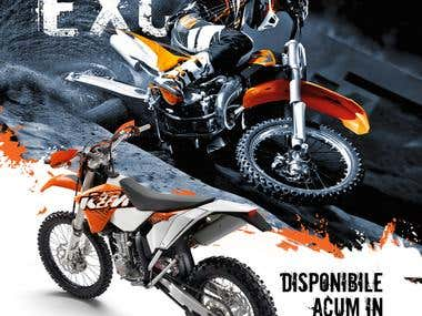 Dementor KTM dealer - graphic design