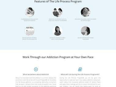 Online Addiction Treatment site