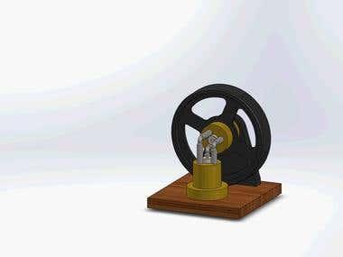 Working Design of Elbow Engine