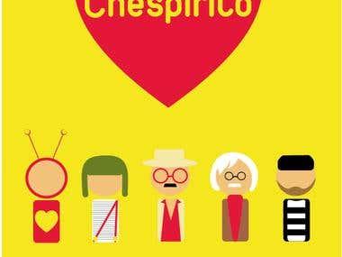 AFICHE - Homenaje a Chespirito