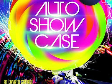 Auto Showcase Flyer