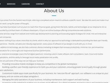 B2B Web Copy - SaaS, Agile, DevOps, Cloud, Mobile Apps