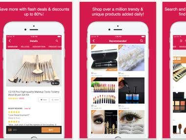 Beauty Shopping App