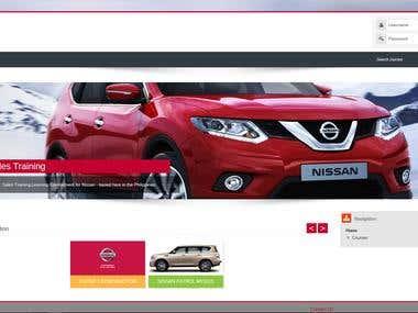 Moodle: Nissan Local Portal