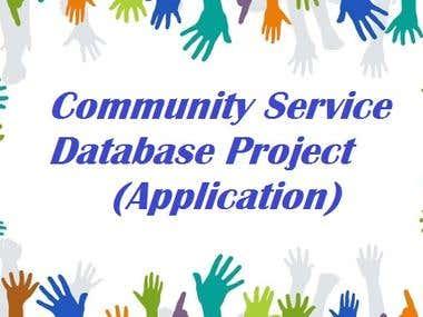Community Service Database Project