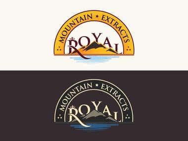 Royal Mountain Logo Design
