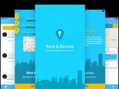 Rent & Review: Rental Property Reviews sharing App
