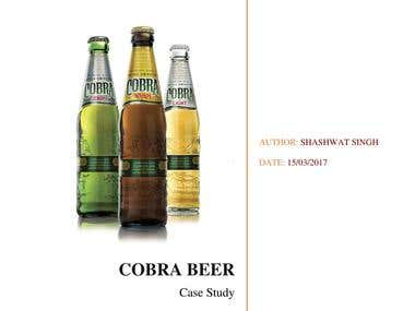 Cobra Beer- Case Study