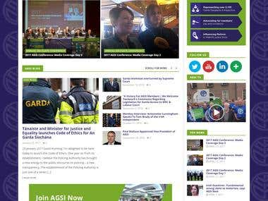 AGSI - Ireland Garda Association website