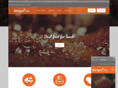 SimpoBox: Lunch Subscription