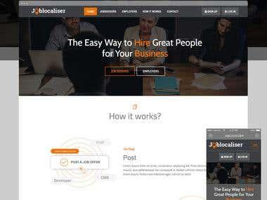 Job Localiser: Job Portal