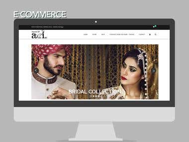 E-Commerce Website!