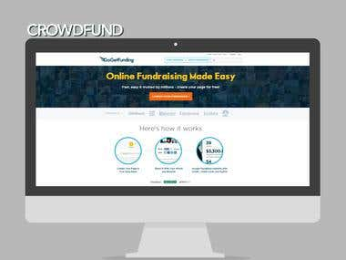 Crowd Funding Website Design, Development and Maintenance!