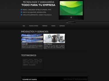 Web Design - Computron 2009