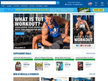 Bodybuilding site