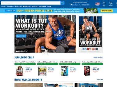 Bodybuilding site