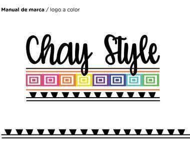 Logo ChayStyle - marca Peruana de accesorios textiles