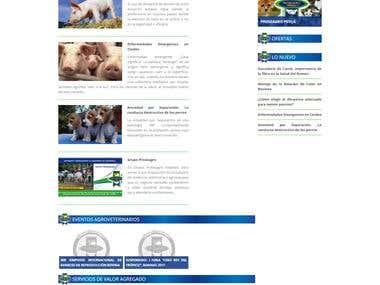 Web Design - proseagro.com