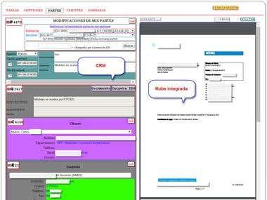 CRM entorno web bajo conexión segura cifrada HTTPS