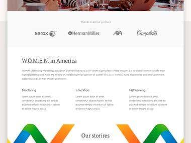 Wia website proposal