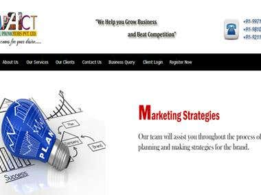 Marketing Wesite