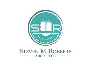 SMR Architech logo design