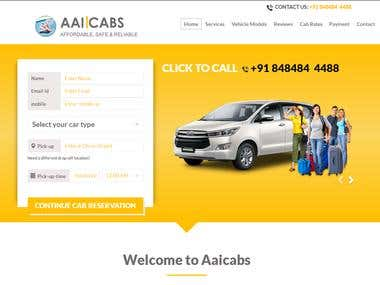 Car Rental Site -http://aaicabs.com/
