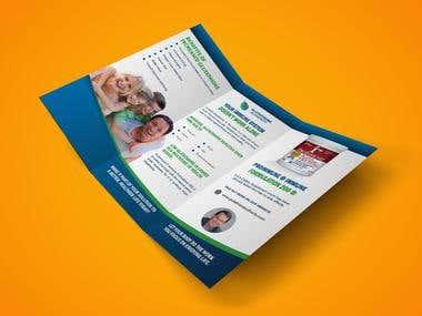 Z-Fold Flyer Design
