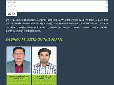 PORTAL FOR CHARTERED ACCOUNTANT