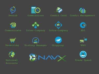NavX Icon Design