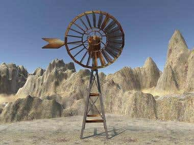 Aermotor Windmill - 3D Design