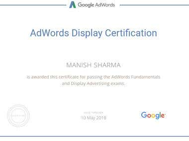 SEO Adwords Certification
