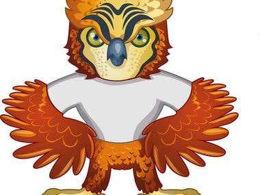 Owl Mascot Brand Design