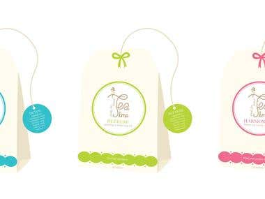 Tea Range Packaging Design