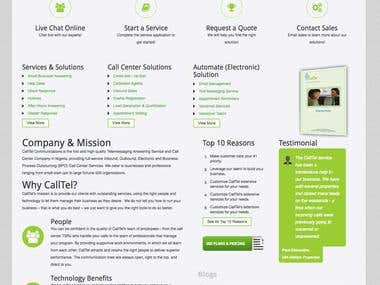 CalltelCom website