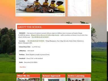 Ma Sharanam School