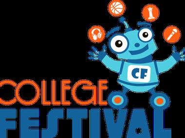 Logo Design for College Festival