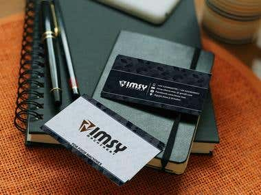 IMSY card and brochure