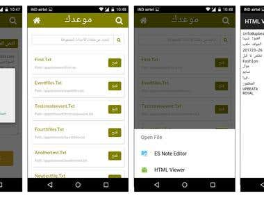 Arabic App - Optical Character Recoginition for Appointments