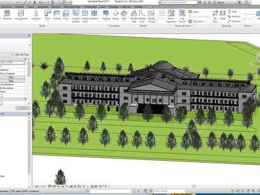 Building Design using Autodesk Revit