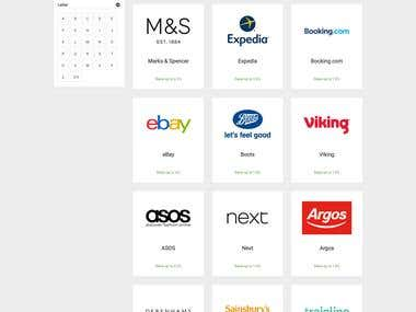 Search Page - Online Brand Search