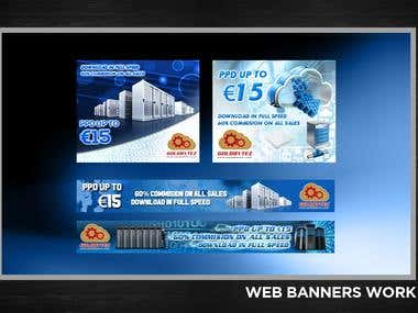 web and FB Banners