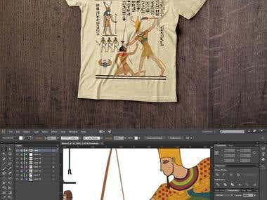 Pharaoh's Glory T-shirt