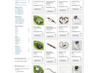 Mutli domin 925 Jewelry website