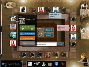 Virtual Cafe - Social Game