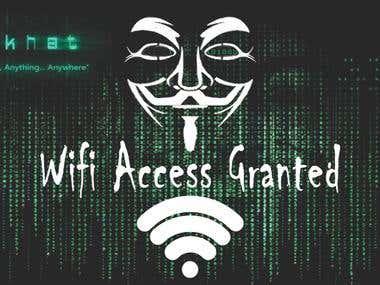 Wifi hacker prank app